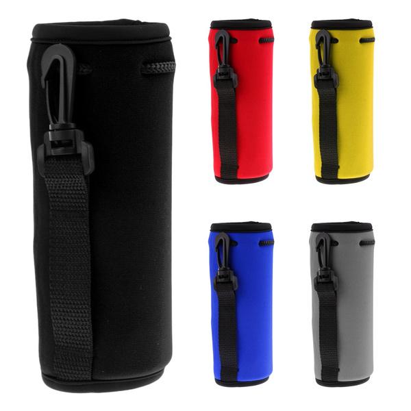 Sport Water Sleeve Bag Bottle Cover Insulated Holder Carrier Case Neoprene Pouch