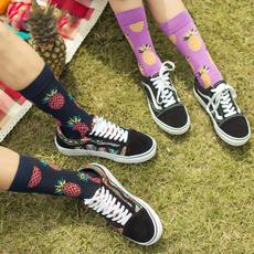 Funny, Cotton Socks, art, Socks