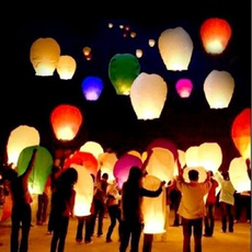 hotairballoon, wishinglamp, Chinese, festive