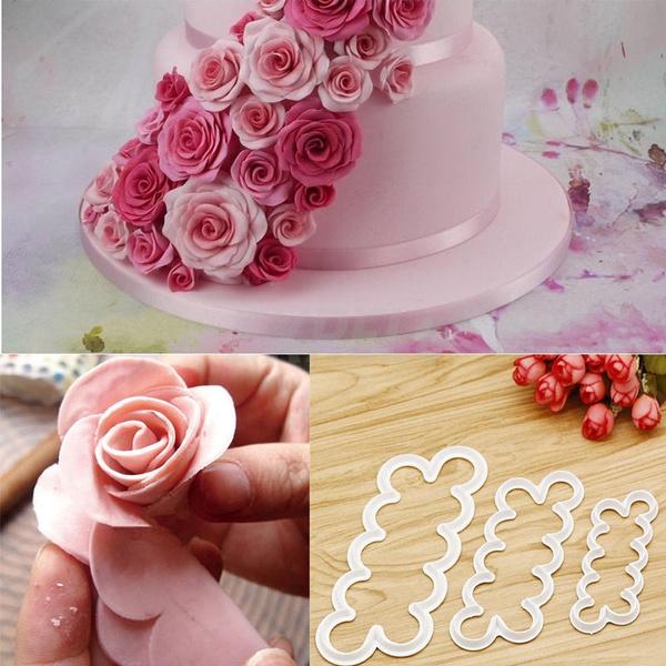 Flowers, Baking, Rose, Tool