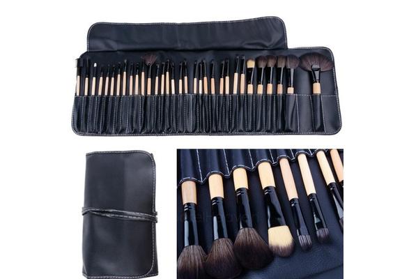 12/18/24/32Pcs Professional Makeup Brushes Cosmetic Tools Brush Set with Storage Bag