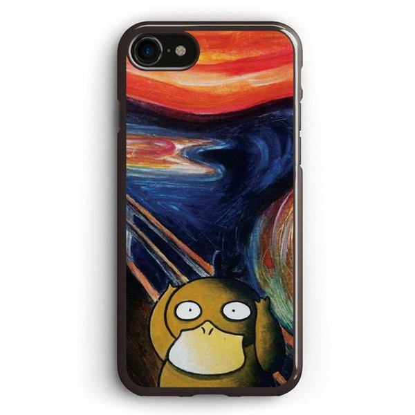 hot sale online c8f29 dbb56 Scream Psyduck phone protection case for Apple iPhone X SE 4 5 6 7 8 Plus  Samsung Galaxy S3 S4 S5 S6 S7 S8 Plus Note 2 3 4 5