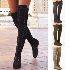 Flats, Fashion, flatsboot, long boots