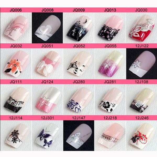 fakenailart, acrylic nails, nail tips, Beauty