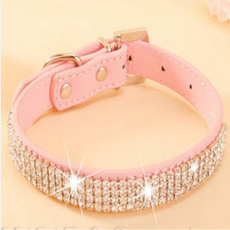 pink, Fashion, Dog Collar, bling bling