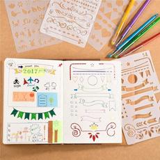 plasticstencil, stencil, Bullet, drawingruler