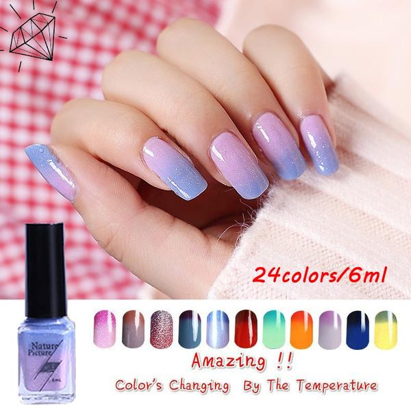 colorchangenail, UV Gel Nail, thermalnailpolish, Nail Polish