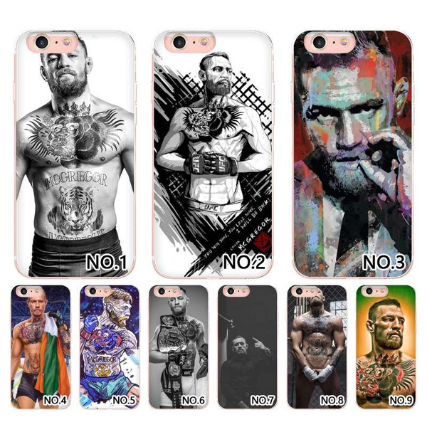 My Favorite Conor Mcgregor Mobile Phone Back Shell For Samsung S6/S6  edge/S7/S7 edge/S8 S8 plus/Note7/Note8/Note3/Note4/Note5 case and case for