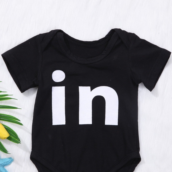 Newborn Infant Baby Boys Girls Bodysuit Twin Romper Jumpsuits Outfits Clothes