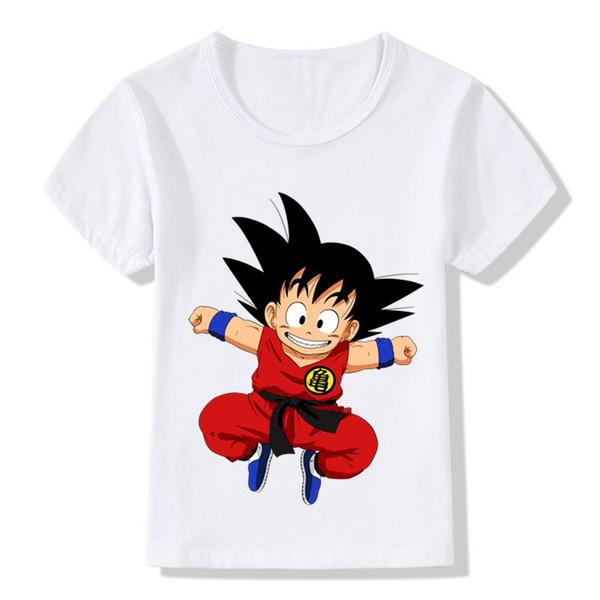 Kids T shirt 3D Print Dragon Ball Z Boys Girls Tee Shirts Cartoon Children Tops