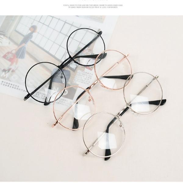 Vintage, eye, fashionwomenglasse, roundglasse