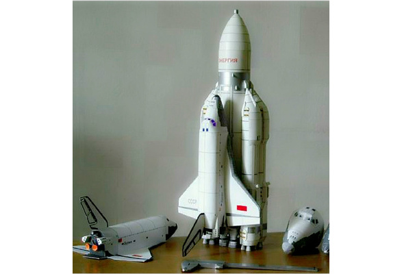 Space Shuttle Rocket Decor and Puzzle