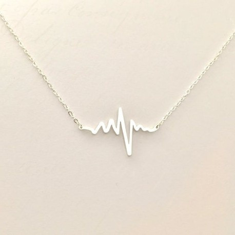 Wish the most popular fashion fashion accessories wish the most popular fashion fashion accessories electrocardiogram ekg rhythm heart beat necklace gift for doctor nurse firefighter paramedic emt medical aloadofball Gallery