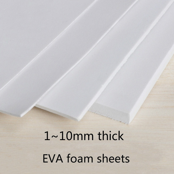 1Pcs EVA Foam Sheets 35x50cm Kids Handmade DIY Craft Cosplay Model 1~10mm  Thick Cute