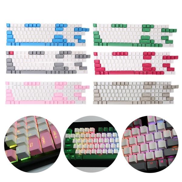 108 Keys Backlight PBT Keycaps For Corsair STRAFE K65/K70 Logitech G710+ UYT
