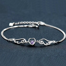 Charm Bracelet, Sterling, Gifts, Chain