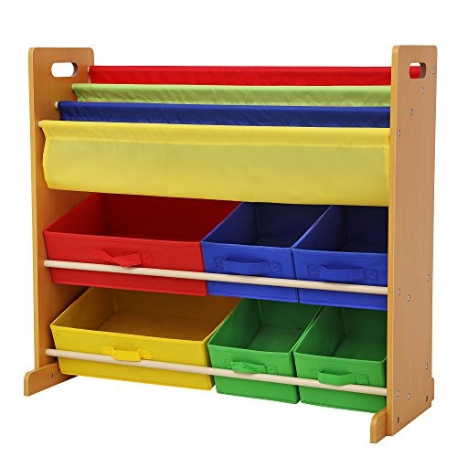 Songmics Kids Toy Storage Unit Sling