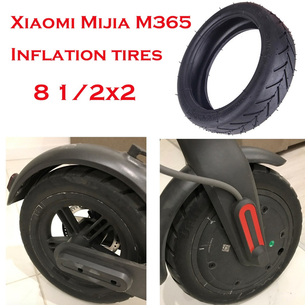 Black Inner Tube 8 1//2X2 for Xiaomi Mijia M365 Electric Scooter Wheel Tyre Tires