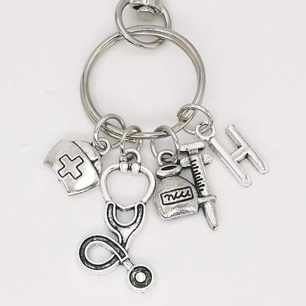 Wish Nurse Medical Keychain Medical Symbol Keychain Medical