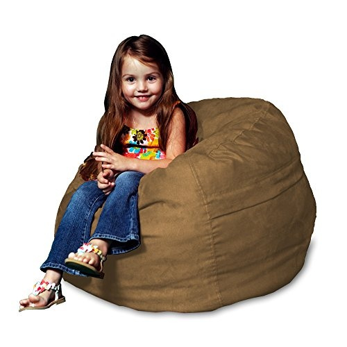 Excellent Chill Sack Bean Bag Chair Large 2 Memory Foam Furniture Bean Bag Big Sofa With Soft Micro Fiber Cover Earth Ibusinesslaw Wood Chair Design Ideas Ibusinesslaworg