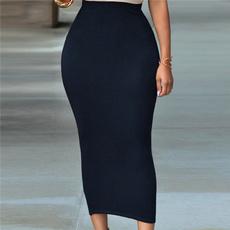 HiP, long skirt, Woman, Winter