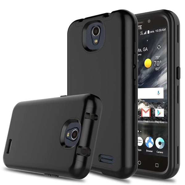 ZTE Maven 3 Case Hybrid Three Layer Shockproof Protective Armor Cell Phone  Case Cover for ZTE Overture 3 / ZTE Prestige 2 / ZTE Z835 / ZTE N9136