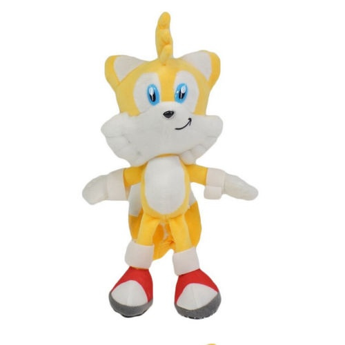 Sonic The Hedgehog Miles Tails Prower 7in Stuffed Animal Cartoon Plush Toy Wish