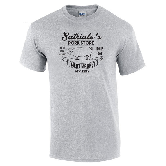 9e252aaa5 Wish | Satriale's Pork Store Funny Mob Mafia Sopranos New Costume Vintage  Retro Humor Mens Tee Shirt Apparel Clothing Summer T-shirt
