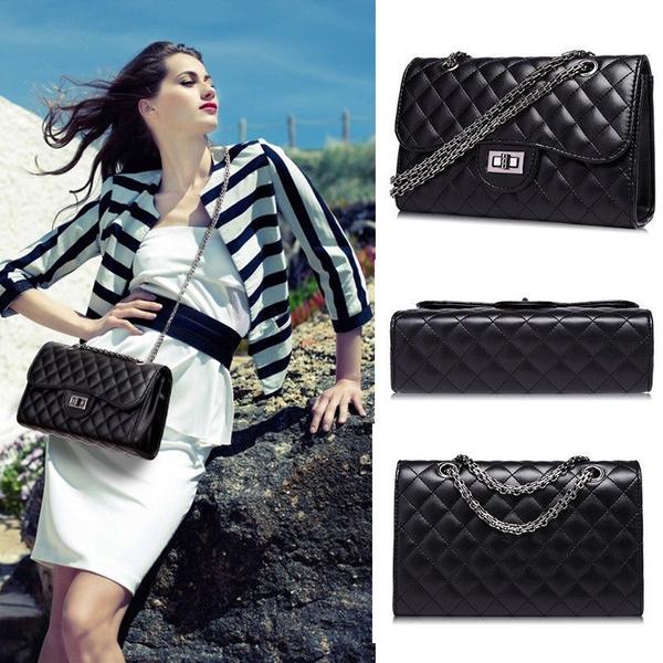Shoulder Bags, chainhandbag, quiltedpurse, Chain