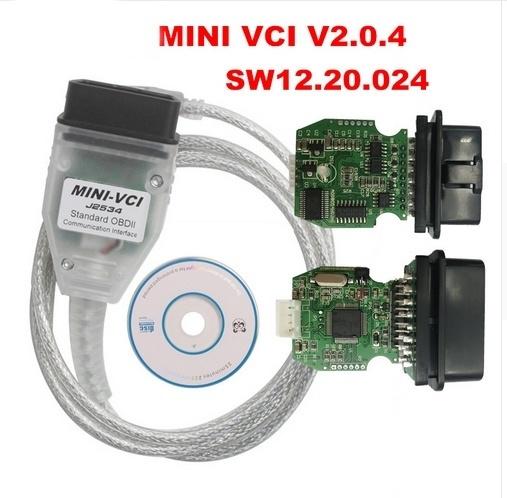 Original Mini Firmware FW VCI V2 0 4 Diagnostic Single Cable Elm327  Interface OBD for Toyota Lexus TIS Techstream Multi-Language MINI-VCI