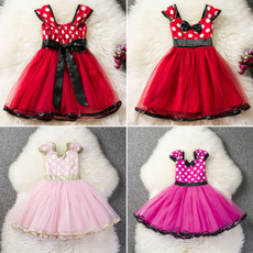 kids, short sleeve dress, Cosplay, Mouse