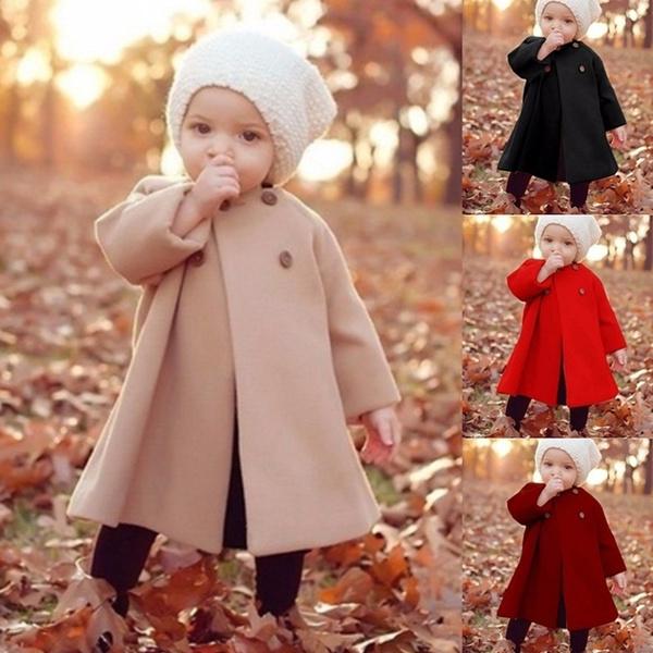 03c0c41c773ef 2018 Kids & Baby Autumn Winter Fashion Coat Warm Cute Trendy Jacket Kids  Clothing Boy Girl Casual Outfits Winter Coat Kids Long Coat