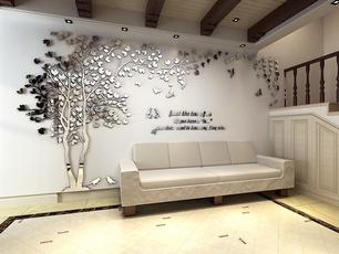 Home Decor, treewallsticker, 3dwallsticker, TV