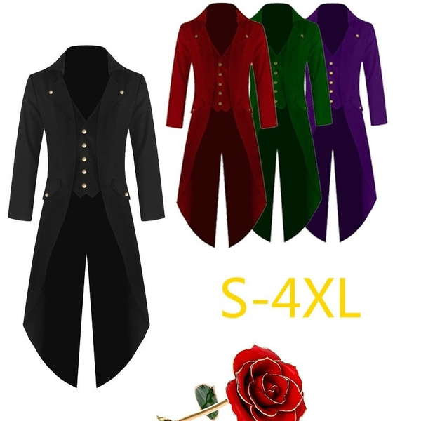 30f145dd459a 2018 Men's Fashion Elegant Black Gentlemen Retro Jacket Mens Solid ...