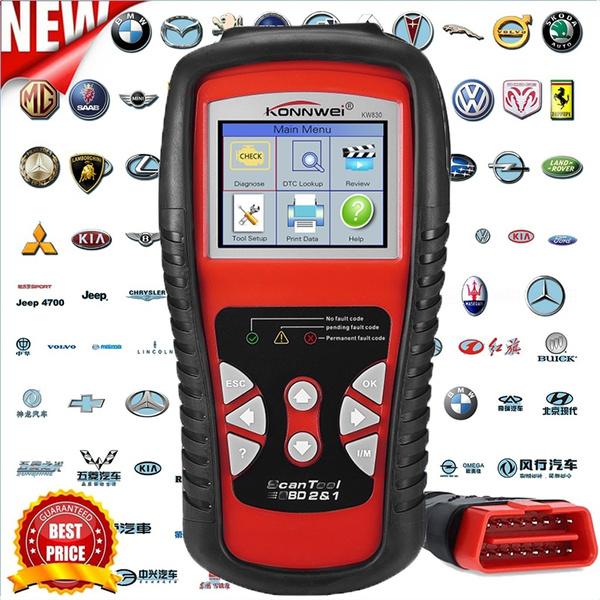 Car OBD2 Scanner Automotive Diagnostic Scan Tool with Color Screen OBD2 II  EOBD Check Car Engine Light Fault Codes Reader Scanner