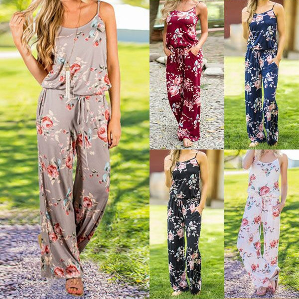 Summer, trousers, Floral print, Fashion