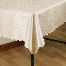 jacquard, tableclothround, Hotel, rectangular