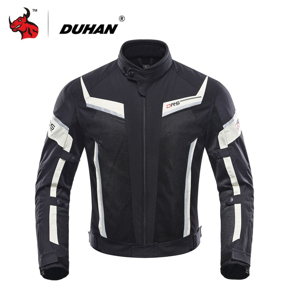 Duhan Motorcycle Jacket Summer Mesh Moto Racing Jacket Motorcycle