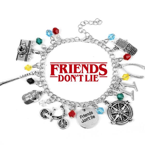 strangething, Jewelry, Bracelet Charm, Bracelet