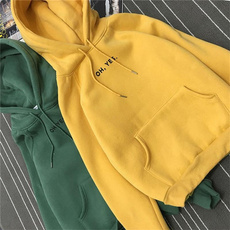 Hoodies, Fleece, Winter, Long Sleeve