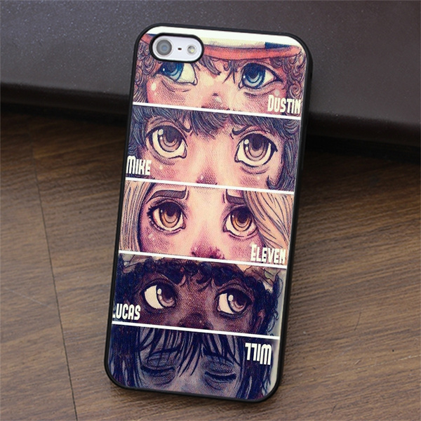 new concept ef521 18811 stranger things Shell Phone Case for Iphone 4 4s Iphone 5 5s 5c Iphone Se  Iphone 6 6s Plus Iphone 7 Plus Ipod Touch 5 6 Samsung Galaxy S3 S4 S5 Mini  ...