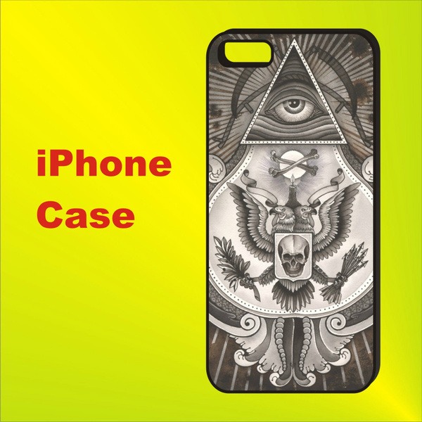 Freemason Illuminati One Eye Symbols Phone Case for Iphone 6 Plus / Iphone  6s Plus / Iphone 7/iphone 7plus/ Iphone 8/ Iphone X Case with Samsung