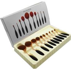 kabukibrushe, 10pcsset, Beauty, beautytoothbrush