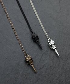 boho, Halloween, birdskull, Jewelry