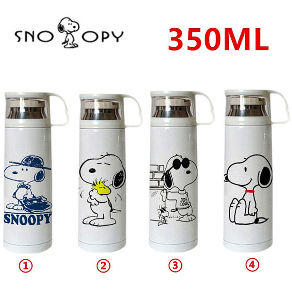 Thermos Stainless Water Vacuum 350ml Steel Flasks Thermol Anime Cute Bottle Mug Travel LSMpzqUVG