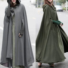 womencloak, autumnwinter, Plus Size, Cosplay
