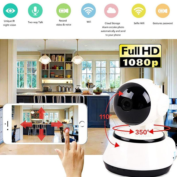 2018 New 1080P V380 HD Wifi Wireless Pan Tilt CCTV Network Cameras IR Night  Vision IP Camera Baby Monitor Home Security/SQ8 Mini Dvr Camera Motion