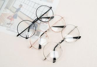 woman fashion, womenglasse, Vintage, roundglasse