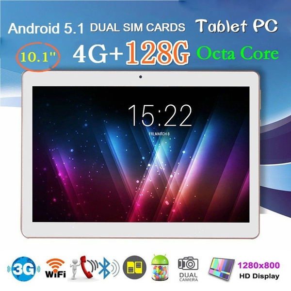 2018 New 10 1 Inch Android 6 0 Windows10 Tablet Allwinner A33 MT6592 Quad  Octa Core 64GB w/Keyboard Cover US/EU Plug Tablet PC(Touch Screen Pen As