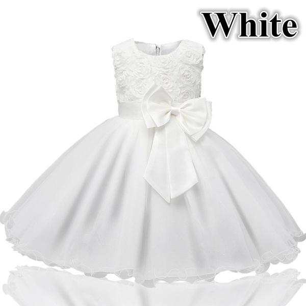 Wish   Baby Girl Kids Summer Chiffon Dress Tulle Flower Girl Dresses ...